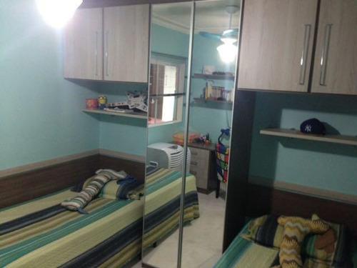casa em condomínio a venda em mogi das cruzes, mogi moderno, 3 dormitórios, 1 suíte, 3 banheiros, 2 vagas - 181