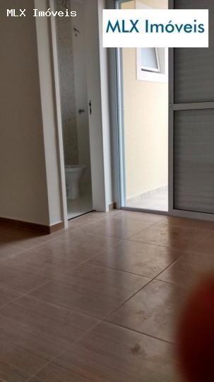 casa em condomínio a venda em mogi das cruzes, vila são paulo, 2 dormitórios, 2 suítes, 3 banheiros, 1 vaga - 509