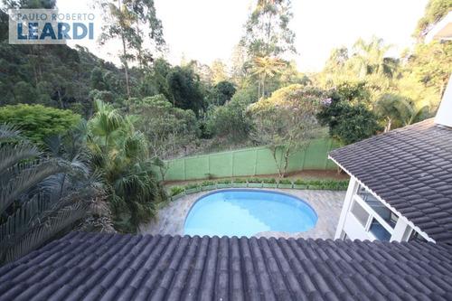 casa em condomínio aldeia da serra - santana de parnaíba - ref: 477332