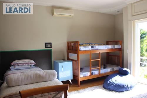 casa em condomínio alphaville - santana de parnaíba - ref: 424992