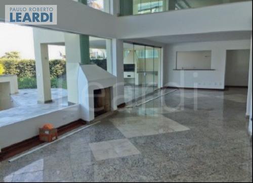 casa em condomínio alphaville - santana de parnaíba - ref: 494301