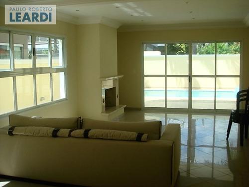 casa em condomínio alphaville - santana de parnaíba - ref: 495805