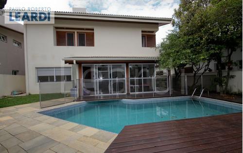 casa em condomínio alphaville - santana de parnaíba - ref: 496509