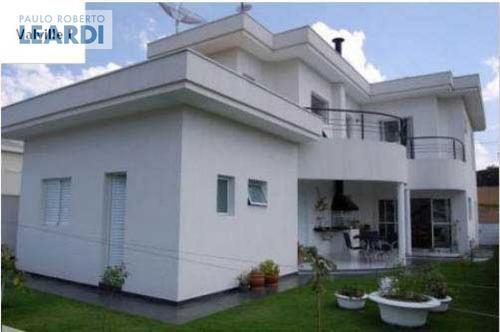 casa em condomínio alphaville - santana de parnaíba - ref: 496619