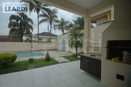 casa em condomínio alphaville - santana de parnaíba - ref: 498877