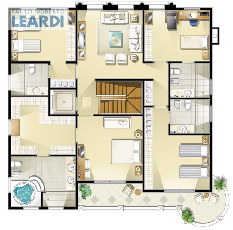 casa em condomínio alto da boa vista  - são paulo - ref: 465375