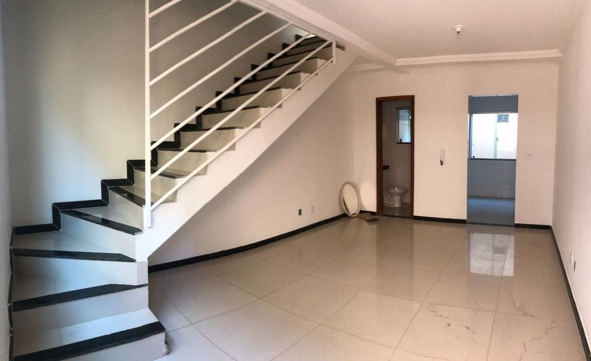 casa em condomínio, bairro santa monica. nova!! 2 quartos, 2 vagas sob pilotis. - 2470
