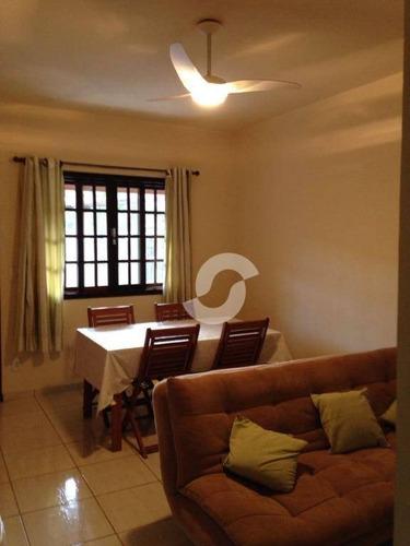 casa em condomínio chácaras de inoã (inoã), maricá - ca0461. - ca0461