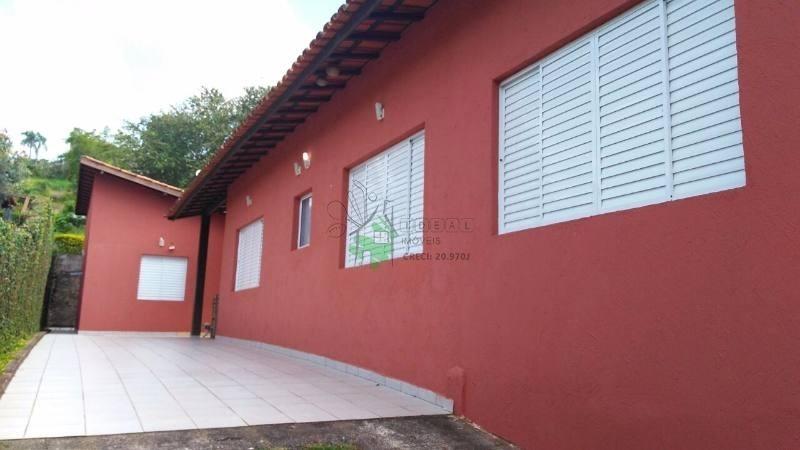 casa em condomínio colinas de ibiúna térrea no rod. bonjiro nakao, 65, 5 dorm, 2 suíte, 5 vagas, 280 m - 695