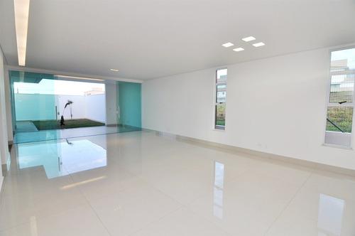 casa em condomínio com 4 quartos para comprar no cond. gran park em vespasiano/mg - 2435