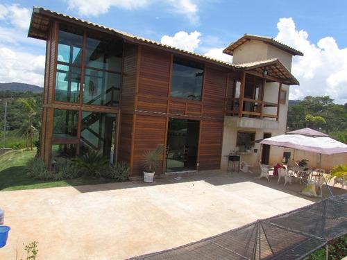 casa em condomínio com 4 quartos para comprar no condomínio estância da cachoeira em brumadinho/mg - 1571