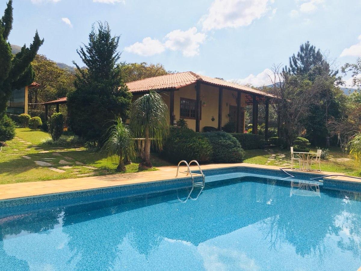 casa em condomínio com 7 quartos para comprar no condomínio quintas de casa branca em brumadinho/mg - 633
