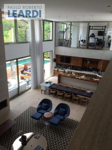 casa em condomínio condomínio arujá verdes lagos - arujá - ref: 455488