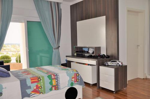 casa em condomínio de alto padrão. são 4 dorms. ref 80085