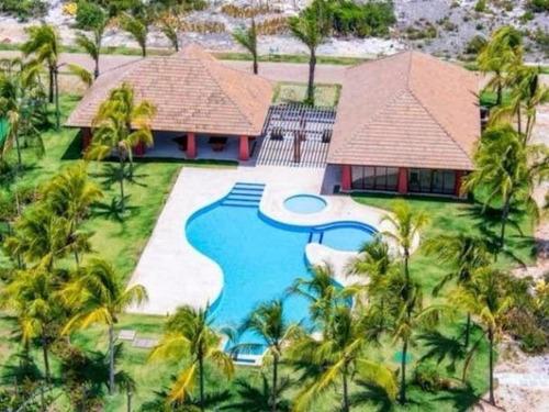 casa em condomínio de luxo 5 suítes com split 429m² na praia do forte - lit966 - 32753616