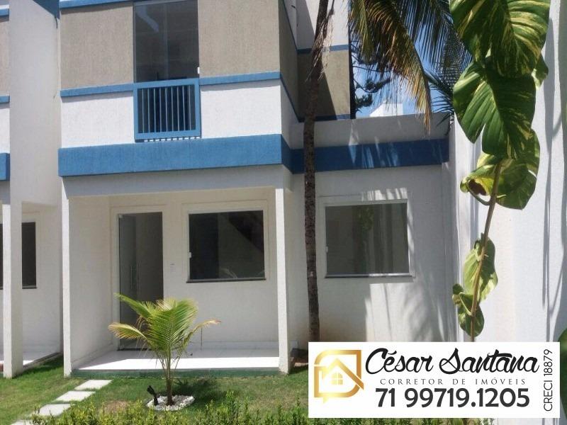 casa em condomínio em itapuã - ca00087 - 4894619