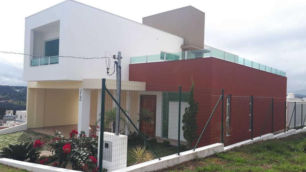 casa em condomínio fechado 04 quartos próximo a cidade administrativa - 46777