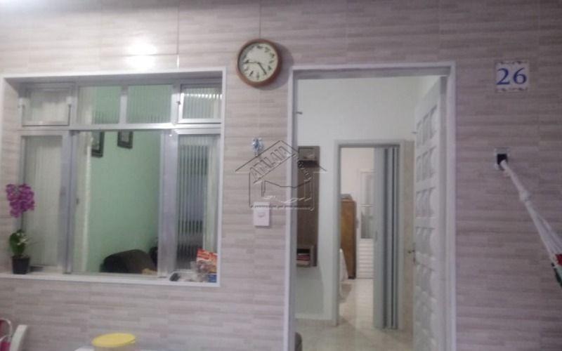 casa em condomínio fechado com 1 dormitório no jardim imperador praia grande.