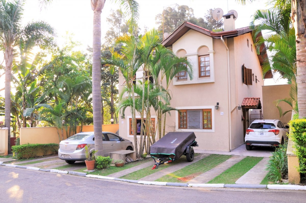 casa em condomínio fechado com 3 dormitórios. ref 80021