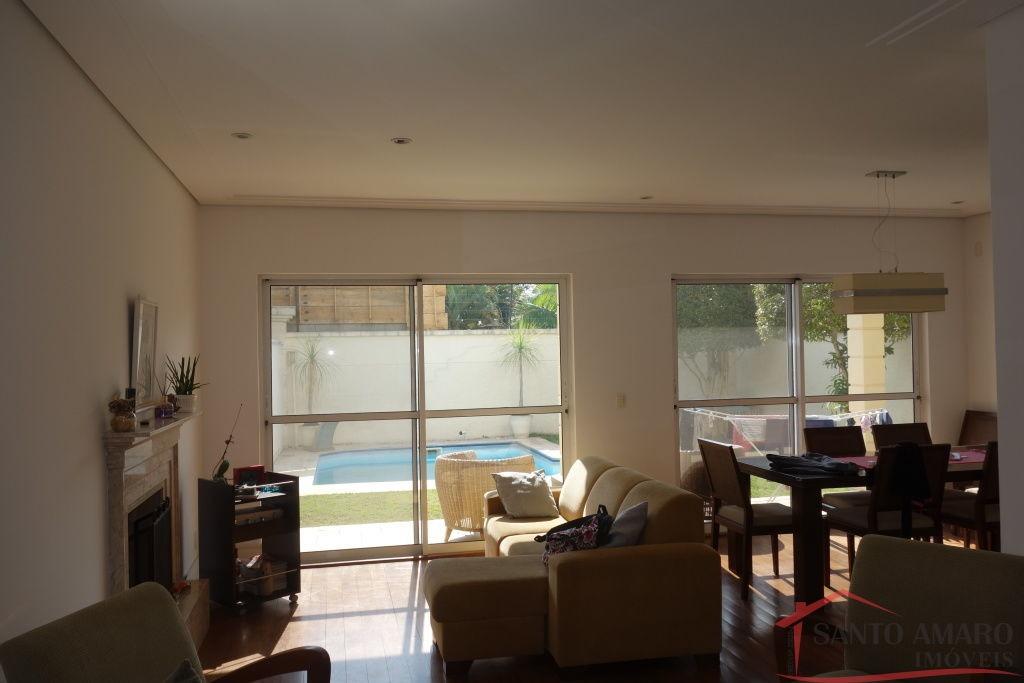 casa em condominio fechado com 4 suites no alto da boa vista. - sa4114