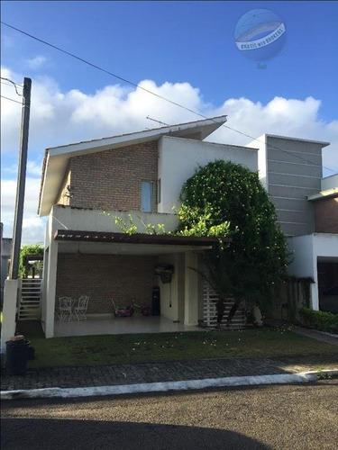 casa em condomínio fechado com ótima estrutura - parco della veritá - ca0055