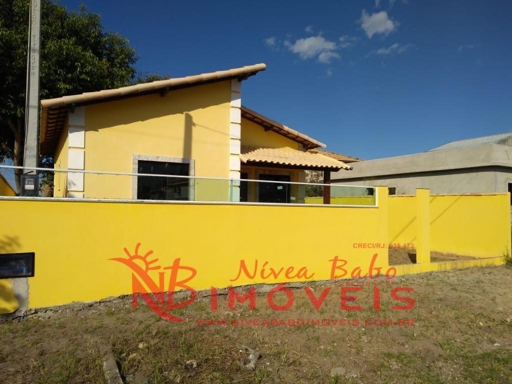 casa em condomínio fechado lazer completo em unamar cabo frio - vcac 073 - 33819060