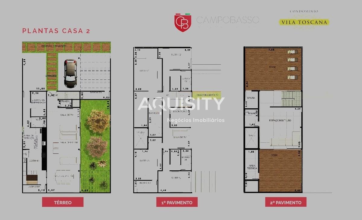 casa em condomínio fechado planalto paulista, 4 suítes, 3 vagas, portas blindadas, aquecimento solar - ca00019 - 4985857