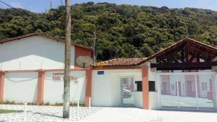 casa em condomínio fechado à venda, vila arens, mongaguá. - ca0130