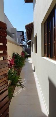casa em condomínio, jardim guacyra, itanhaem, frente ao mar