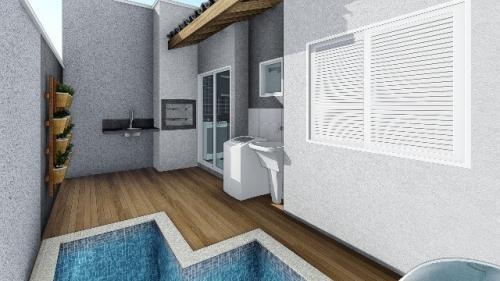 casa em condomínio no cibratel ii, em itanhaém - ref 4328