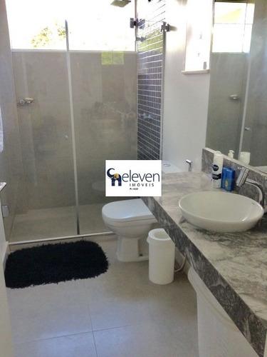 casa em condomínio para venda alphaville ii, salvador com: 4 dormitórios sendo 4 suítes, 1 sala, 1 banheiro, 2 vagas e 412 m² construída, 573 m² útil. - tjn81020 - 32026219