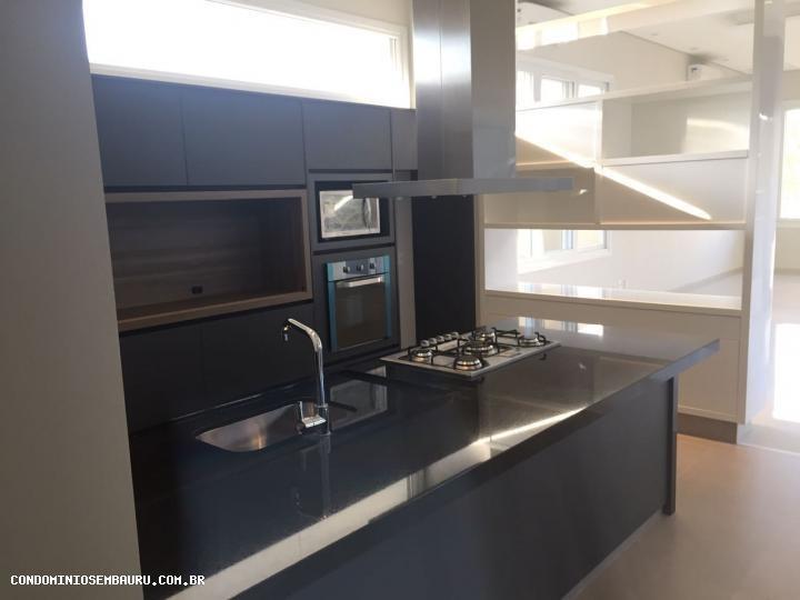 casa em condomínio para venda em bauru, residencial lago sul, 3 dormitórios, 3 suítes, 5 banheiros, 2 vagas - 273