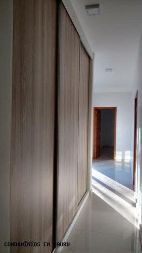 casa em condomínio para venda em bauru, residencial tivoli, 3 dormitórios, 3 suítes, 6 banheiros, 4 vagas - 188