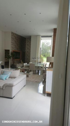 casa em condomínio para venda em bauru, residencial villa lobos, 3 dormitórios, 3 suítes, 5 banheiros, 2 vagas - 321