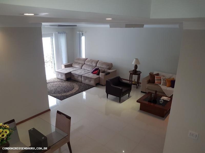 casa em condomínio para venda em bauru, residencial villaggio iii, 3 dormitórios, 1 suíte, 4 banheiros, 2 vagas - 332