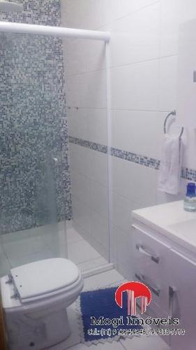 casa em condomínio para venda em mogi das cruzes, jardim bela vista, 2 dormitórios, 1 banheiro, 1 vaga - 888684