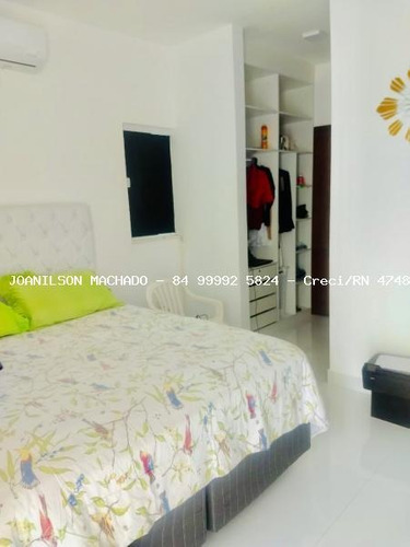 casa em condomínio para venda em natal, parque das nações - condomínio exclusive, 4 dormitórios, 1 suíte, 2 banheiros, 2 vagas - cas1150-exclusive