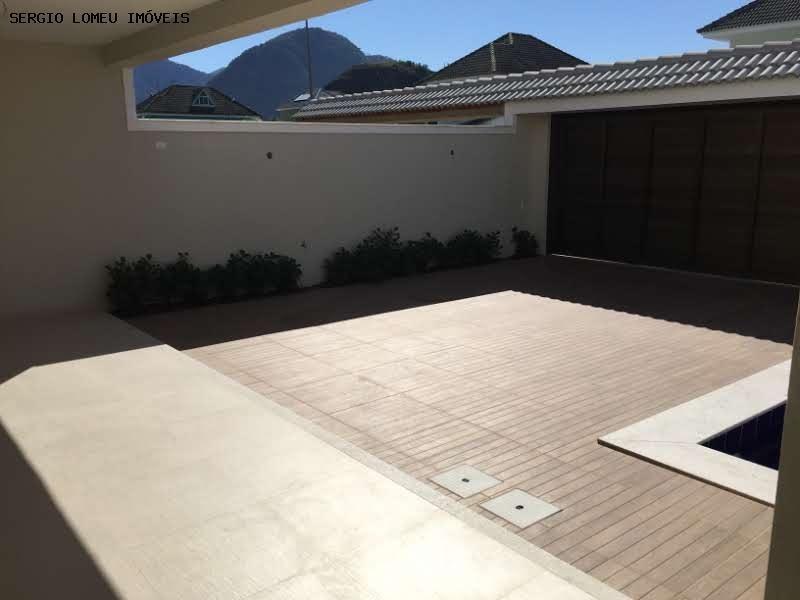 casa em condomínio para venda em rio de janeiro, recreio dos bandeirantes, 5 dormitórios, 4 suítes, 6 banheiros, 4 vagas - 6554