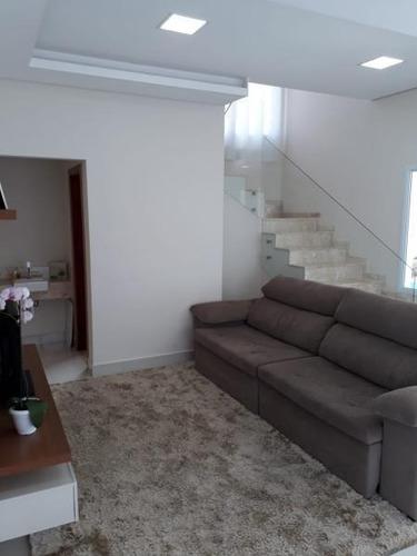 casa em condomínio para venda em valinhos, parque nova suíça, 3 dormitórios, 1 suíte, 4 banheiros, 4 vagas - ca1255