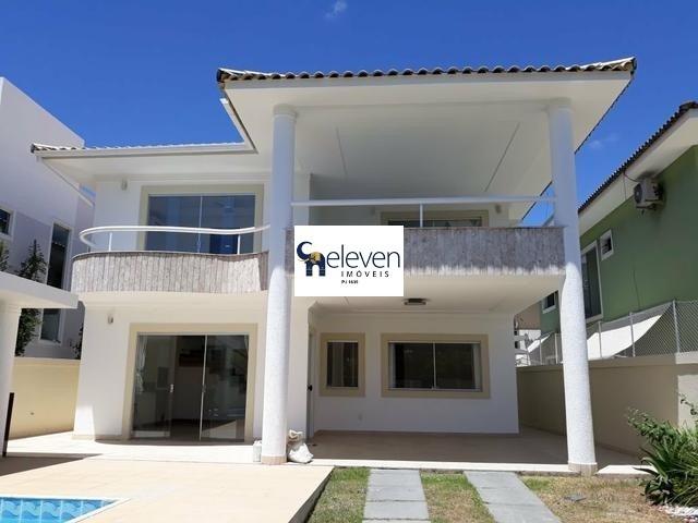 casa em condominio para venda lauro de freitas 5 dormitórios sendo 3 suítes, 1 sala, dependência completa,1 banheiro, 4 vagas, 462 m² construída. - ca00146 - 32351072