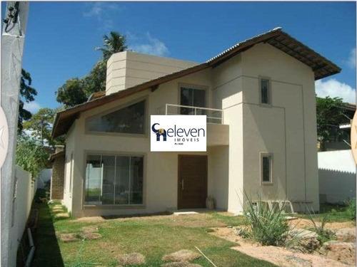 casa em condomínio para venda portao, lauro de freitas 4 dormitórios sendo 1 suíte, 2 salas, 4 banheiros, 4 vagas 185,00 construída, - ca00244 - 32729786