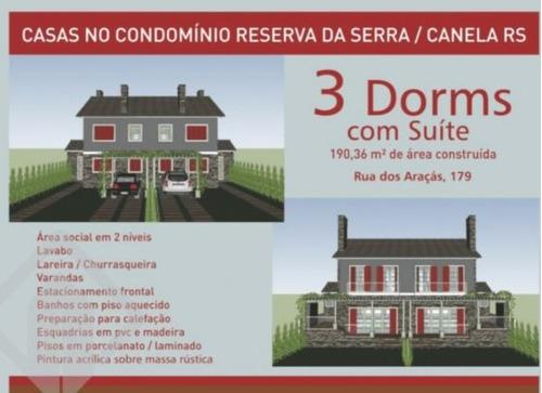 casa em condominio - reserva da serra - ref: 159616 - v-159616