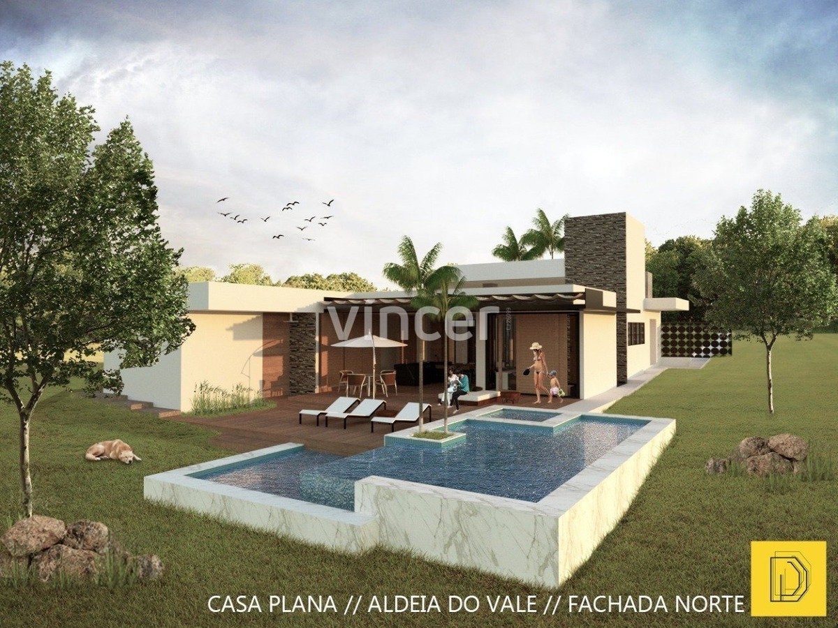 casa em condominio - residencial aldeia do vale - ref: 406 - v-406