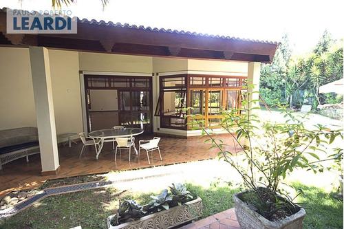 casa em condomínio residencial tamboré - barueri - ref: 452953
