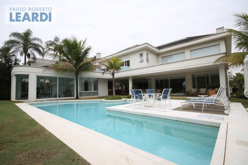 casa em condomínio tamboré - santana de parnaíba - ref: 468299