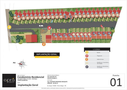 casa em condominio - vila nova - ref: 148730 - v-148730