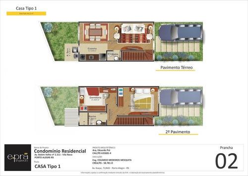 casa em condominio - vila nova - ref: 148861 - v-148861