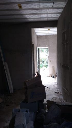 casa em construção e mais salão comercial