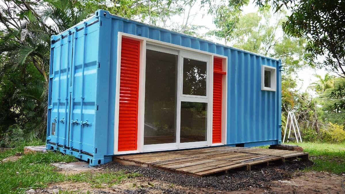 Casa em container 20 p s entrega em 55 dias teis - Casas prefabricadas contenedores ...