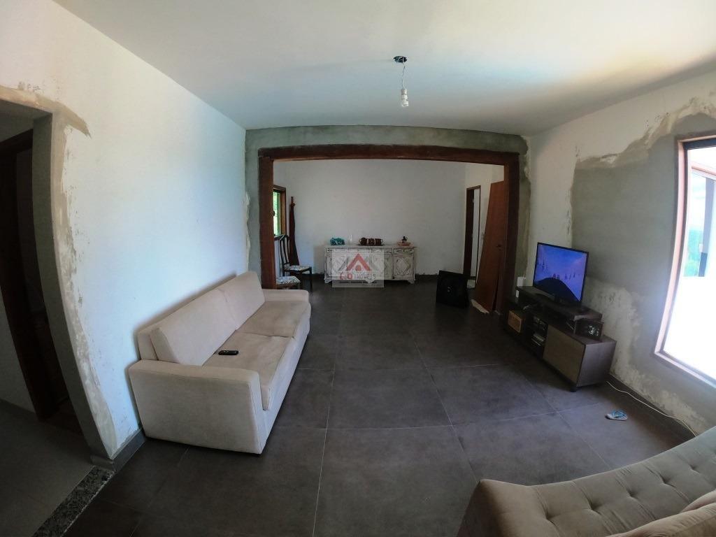 casa em estilo sitio a venda no vale do luar próximo lagoa santa - 3891